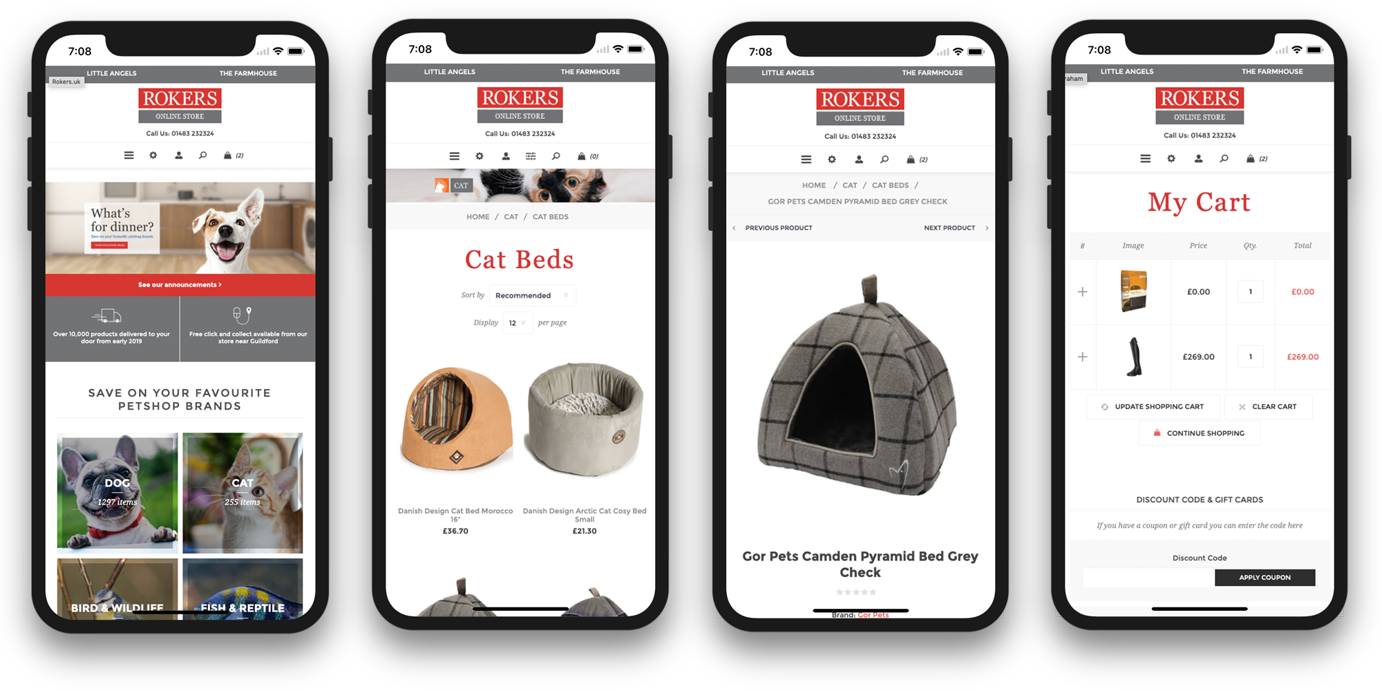 rokers online store ecommerce journey