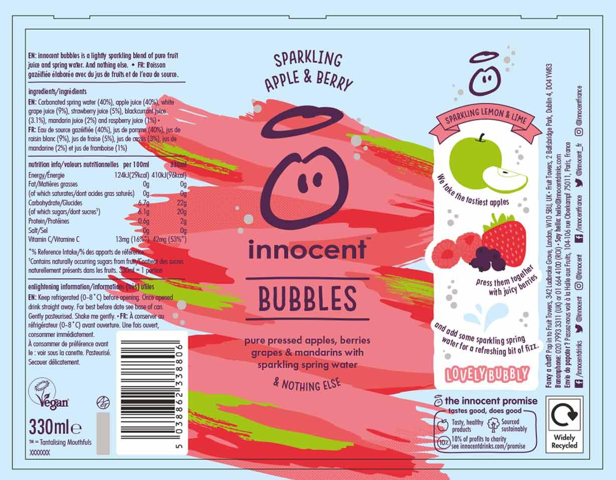 innocent packaging