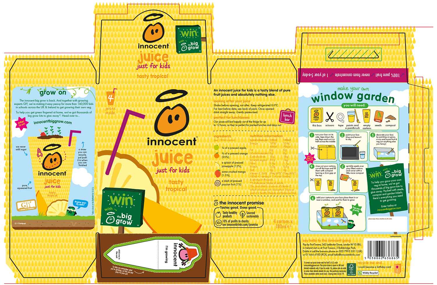 innocent creative packaging proof