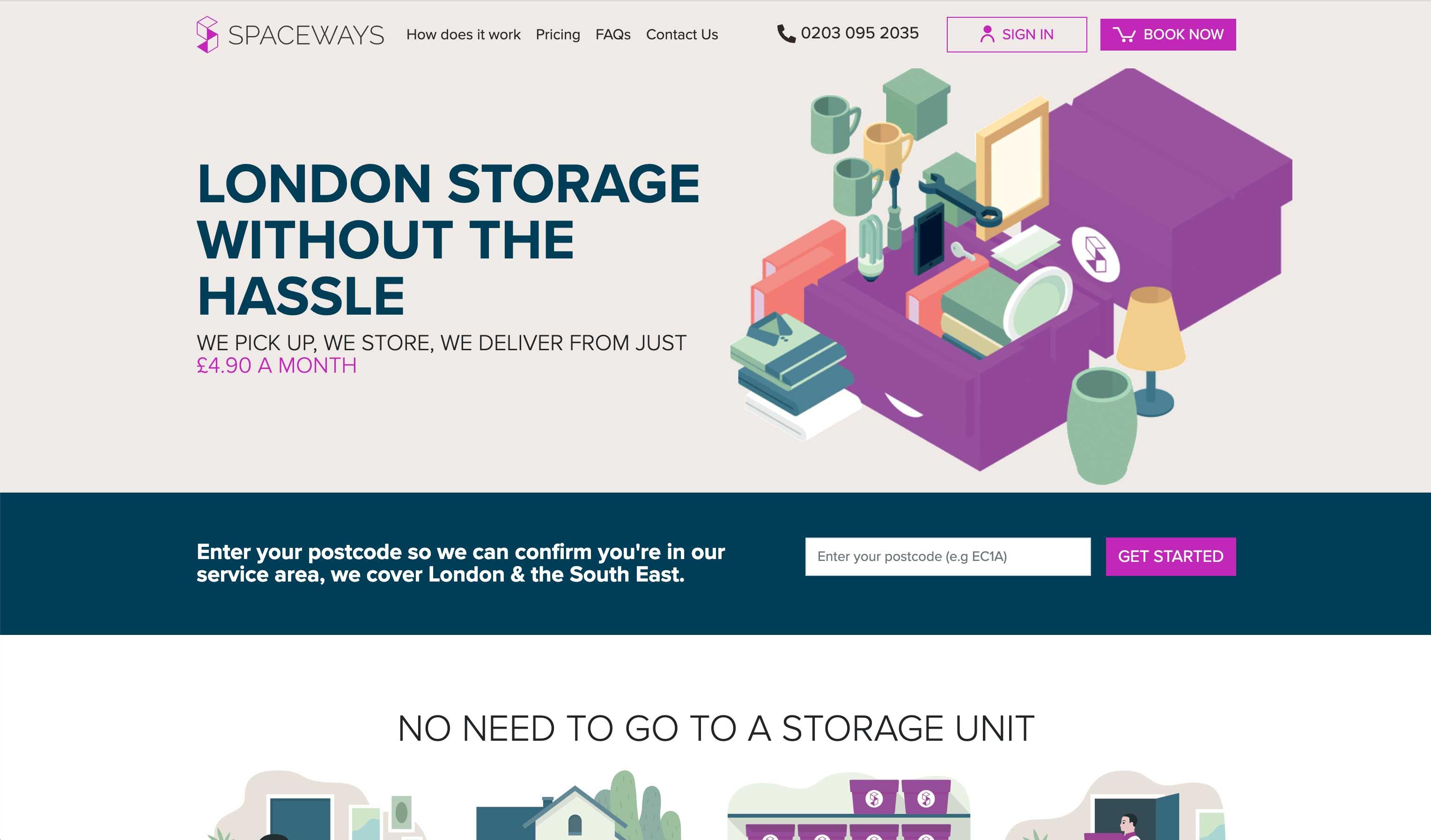 spaceways homepage