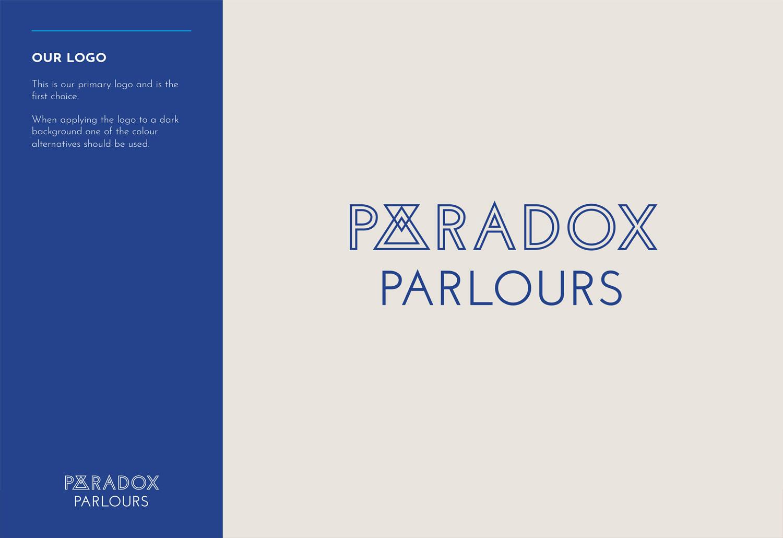 Creative brand strategy Paradox Parlours