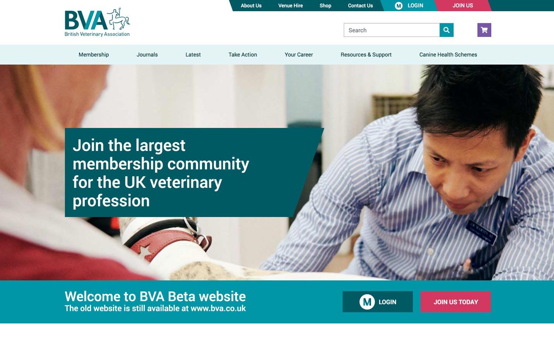 BVA homepage