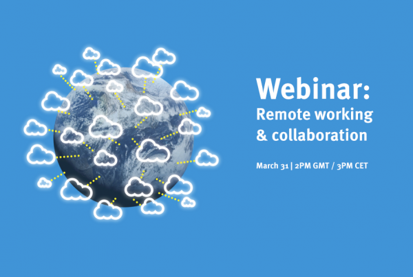 webinar remote working and collaboration