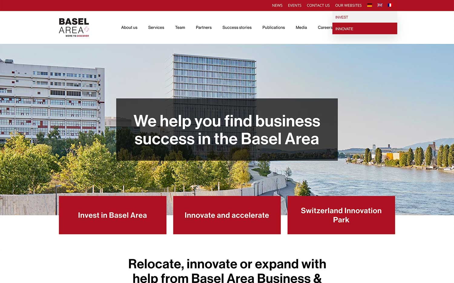 basel area website options