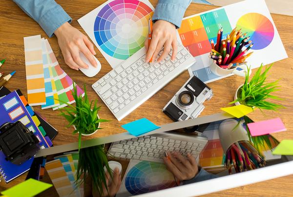 Branding graphic designer