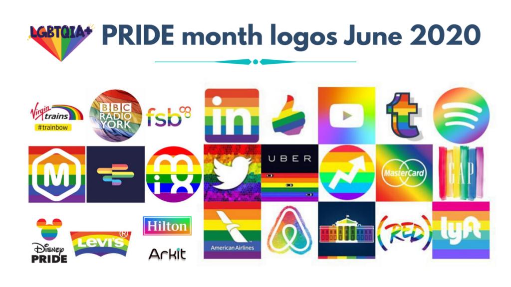 Pride logos 2020